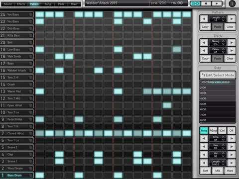 Attack Drums by Waldorf Music iOS music production