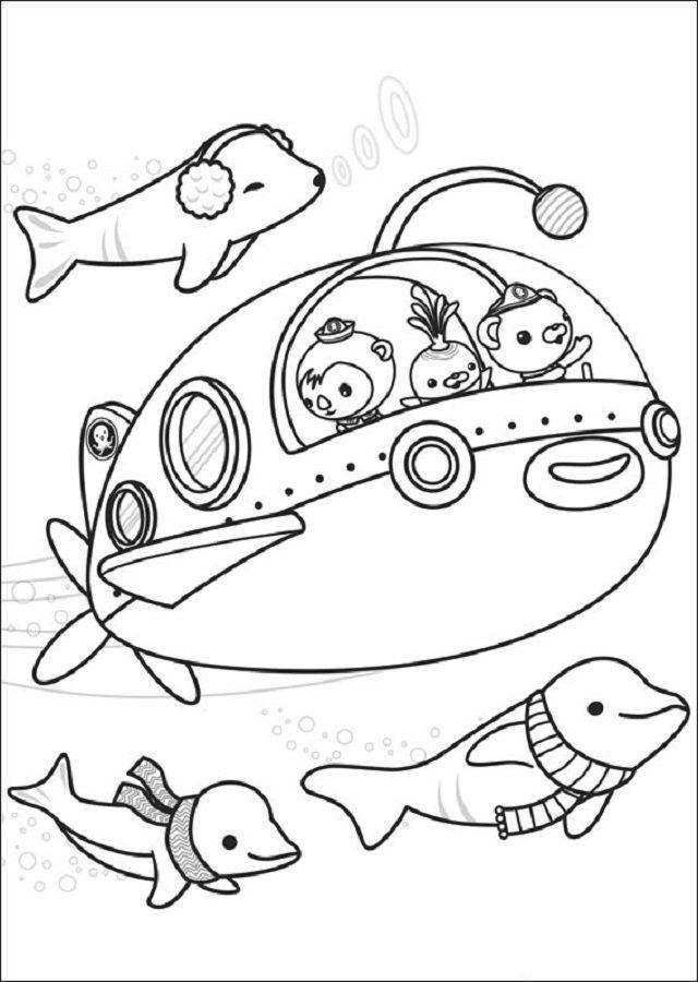 Pin by dibujosparacolorear on Dibujos para colorear Los Octonautas ...