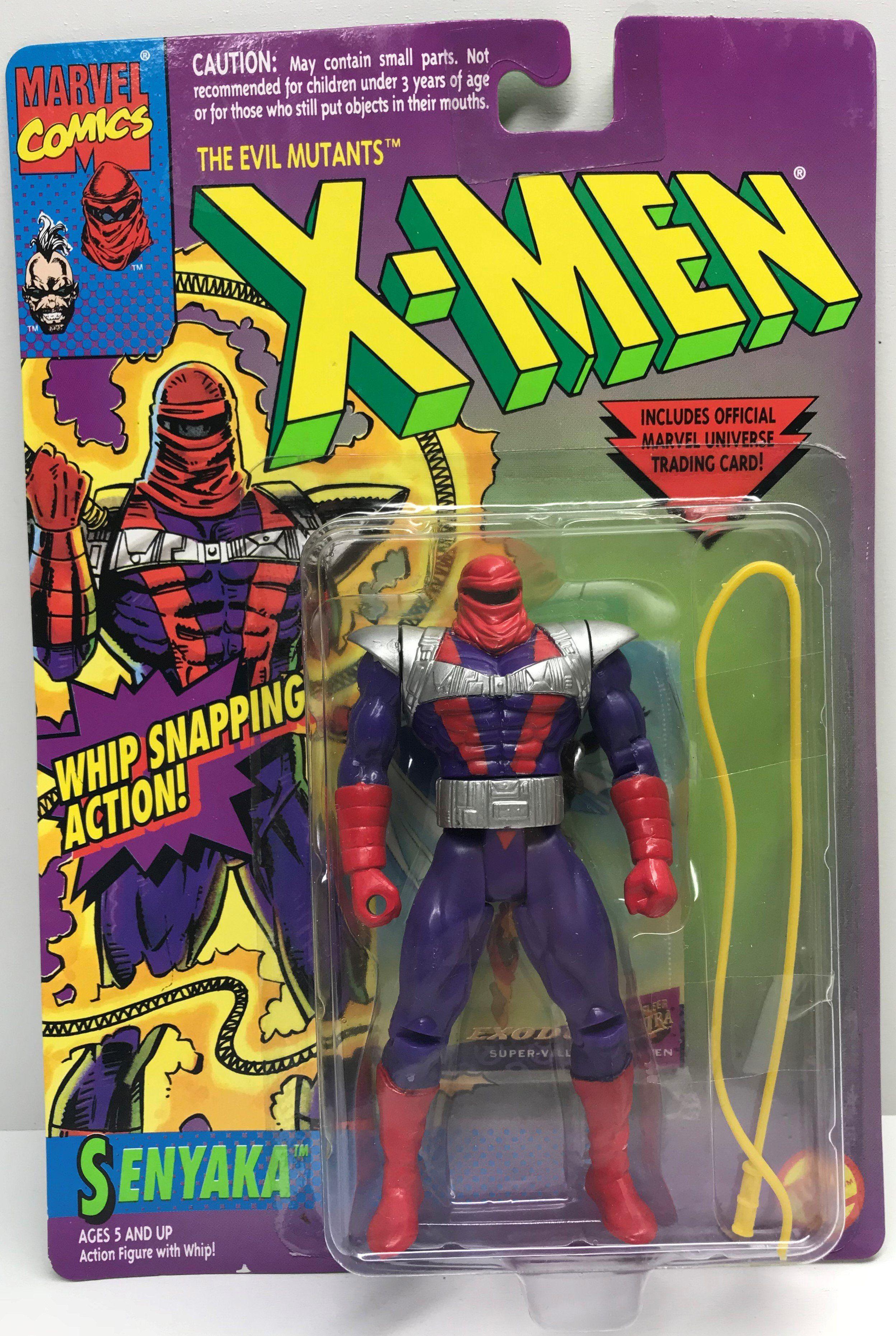 Uncanny X-men Shatterstar Marvel Comics 1992 Action Figure Trading Card X-Force