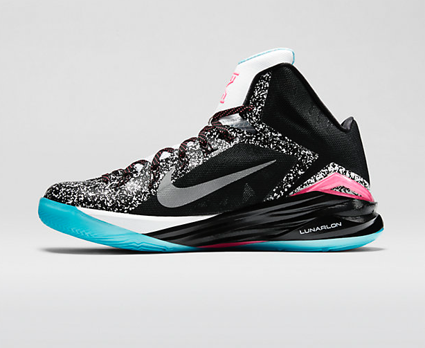 check out 144c1 e7045 Nike Hyperdunk 2014 Kyrie Irving PE – Black   White   Digital Pink –  Metallic Silver