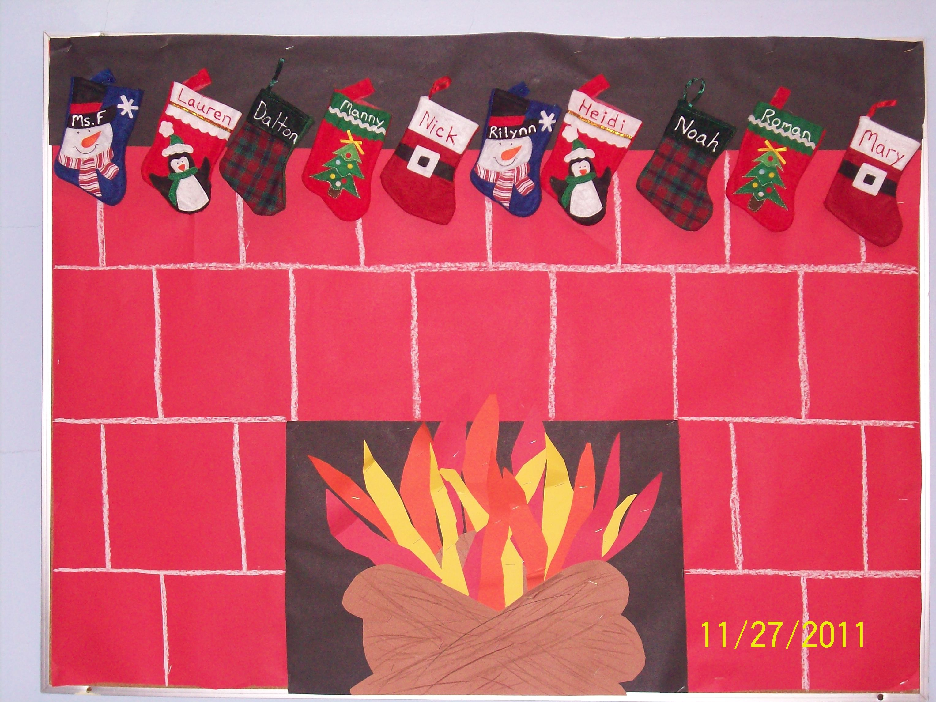 My quot stocking were hung by the chimney with care christmas