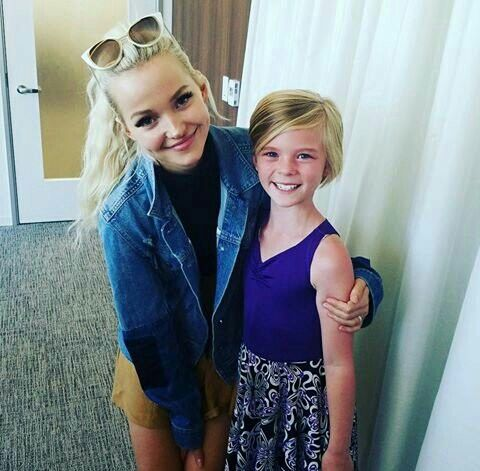 Dove Cameron on Noellee Parker posted on Instagram.