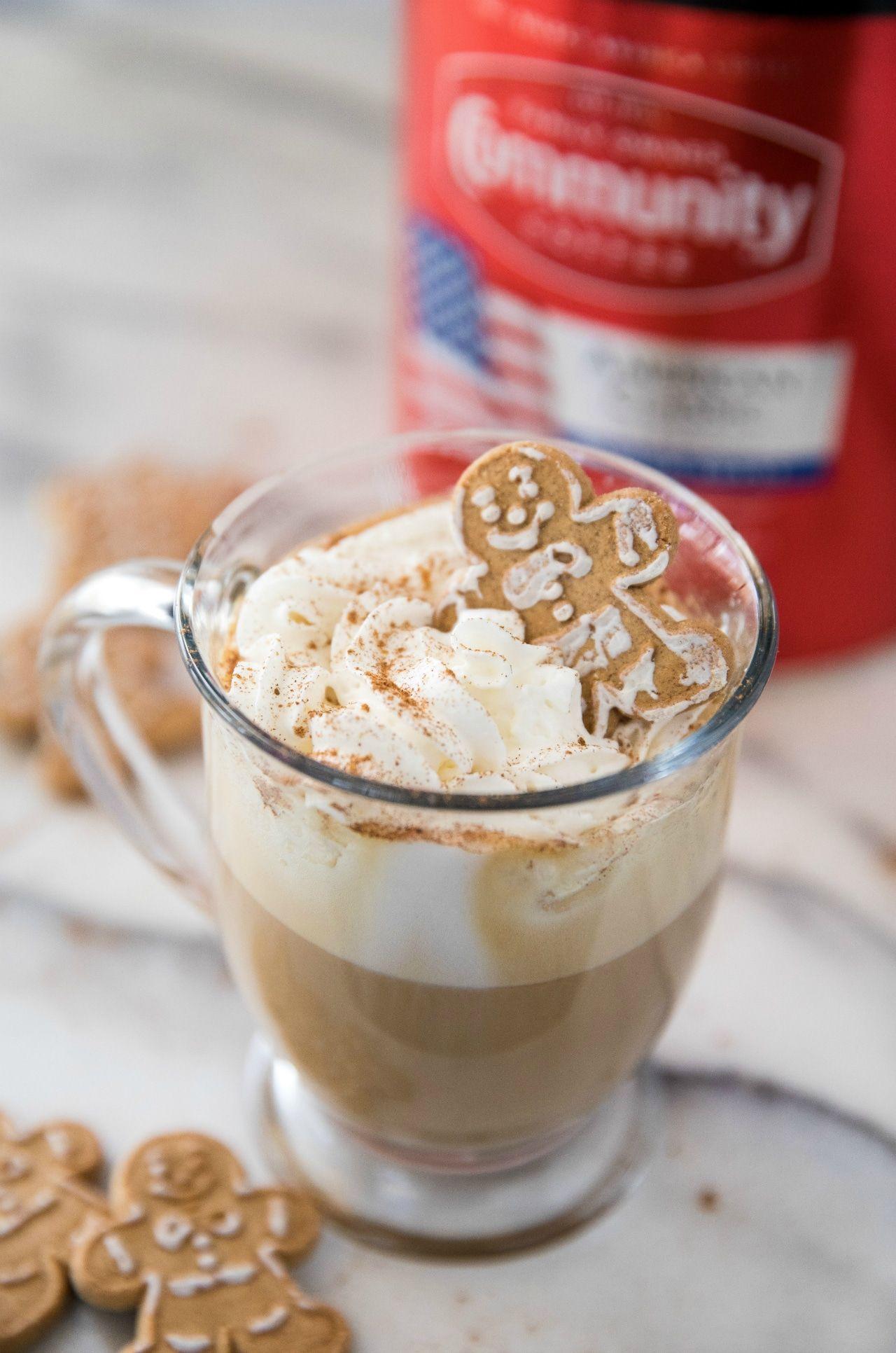 Gingerbread Latte Kim S Cravings In 2020 Healthy Pumpkin Bars Gingerbread Latte Easy Sugar Cookies