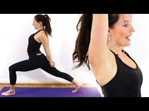 yoga for beginners  humble warrior  yoga for beginners