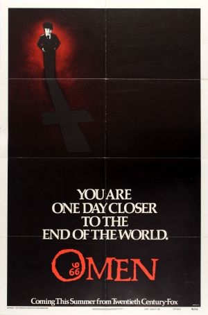 THE OMEN Movie Poster Horror Satan Satanic 666 Damien