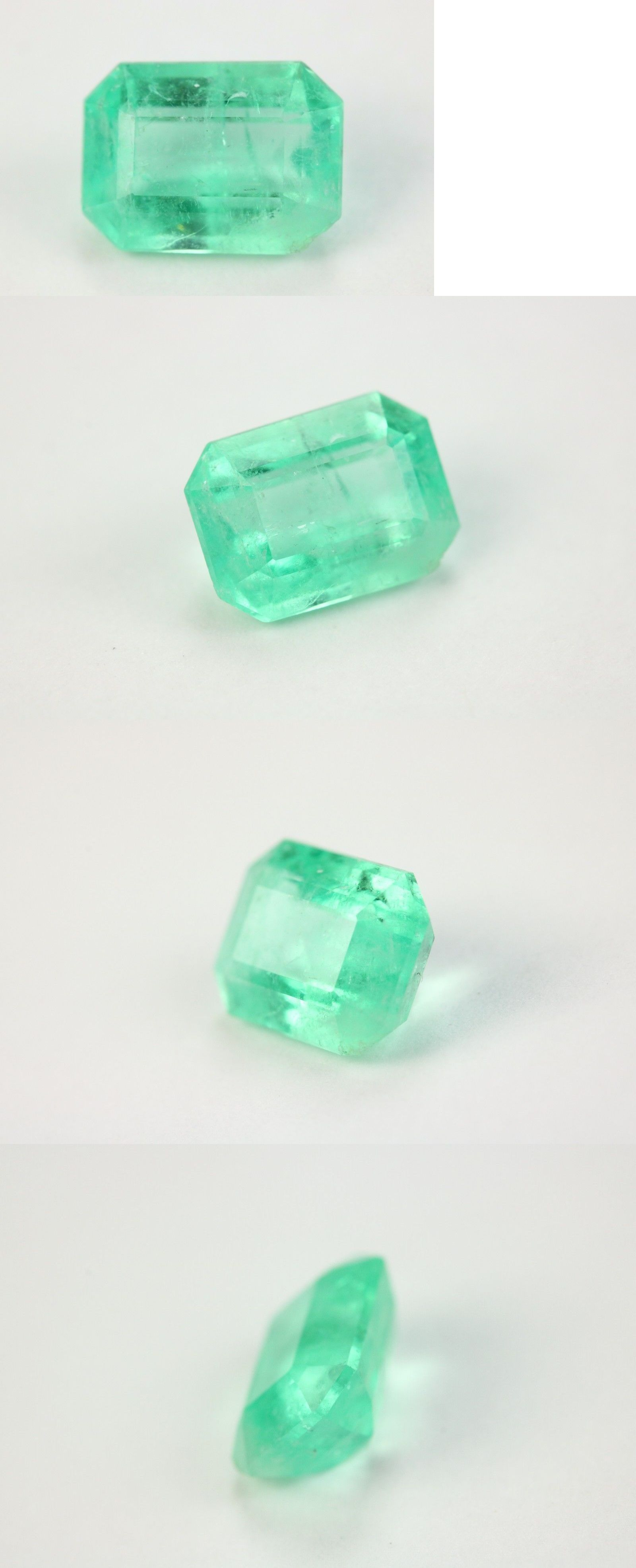 Oval Muzo Colombian Emerald Collection Natural 7-9 Ct Untreated AGSL Certified