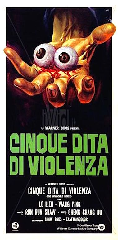 five fingers of death 1972