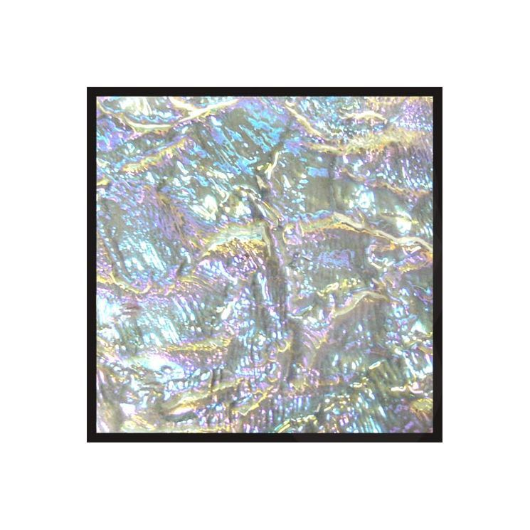 """2"""" x 2"""" Glass Tile in Crystal"""