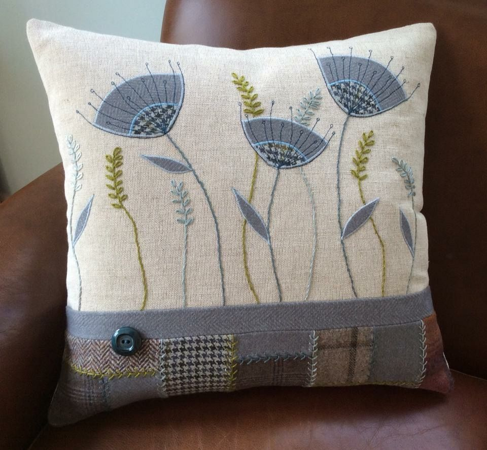 Pin by rene van zyl on cushions pinterest embroidery quilted
