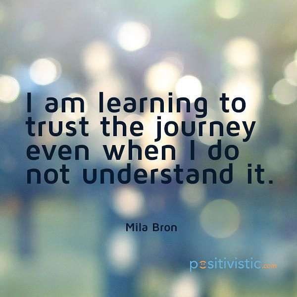 Life Journey Quotes Cool Quote On Your Life's Journey Mila Bron Quote Learning Trust