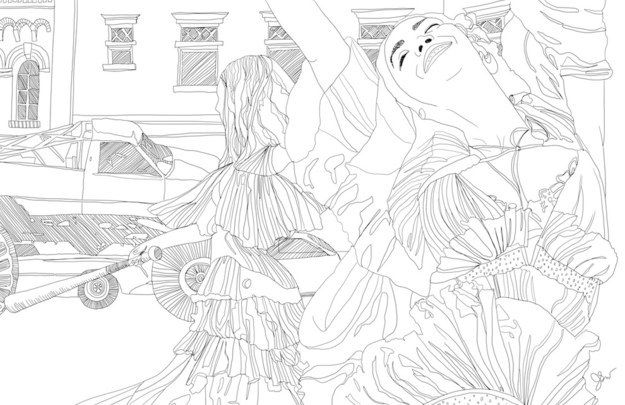 So She Drew Some Of The Most Iconic Scenes From Lemonade Illustration Coloring Books Toddler Art