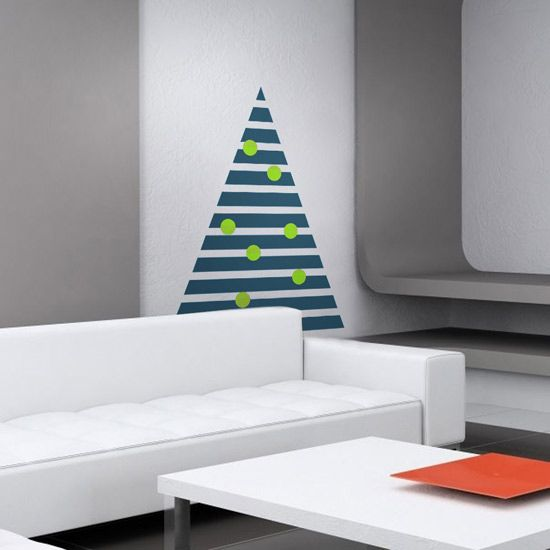 10 christmas tree alternatives and other small space decorating ideas