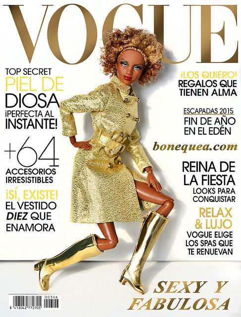 Golden cover girl