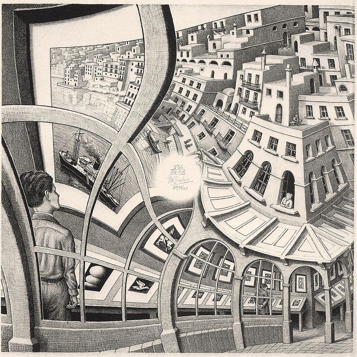 Escher En El Palacio De Gaviria Arte De Escher Mc Escher Arte