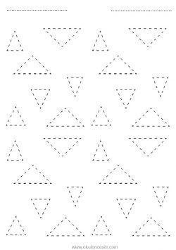 Ucgen Kavrami Calisma Sayfasi Calisma Yazma Ve Geometri