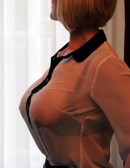 see bra Amateur through