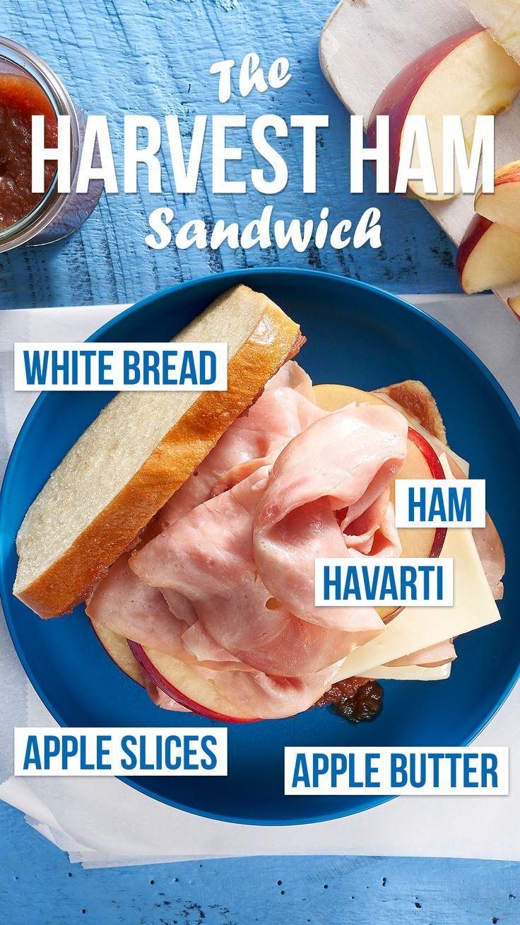 This sandwich is calling your taste buds the harvest ham
