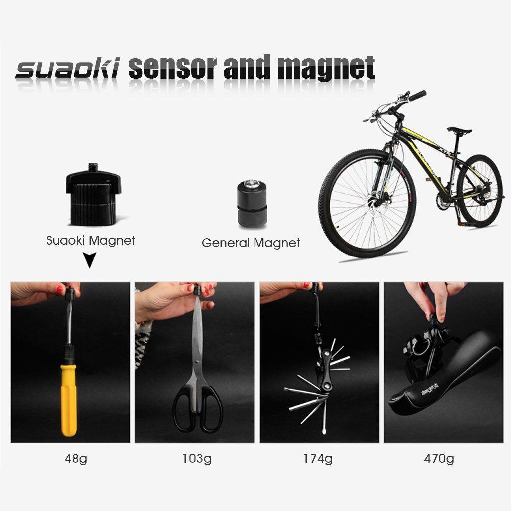 Suaoki Wireless Bike Computer Bicycle Speedometer Bike Odometer