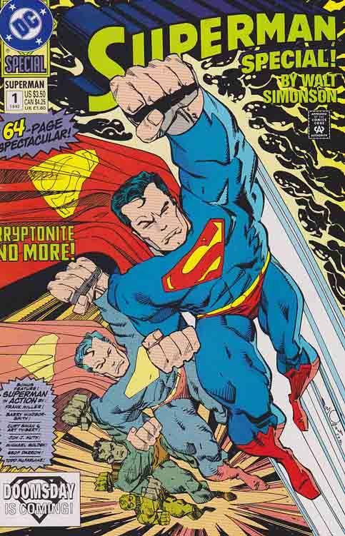 Superman Special By Walt Simonson 1992 Superman Comic Comics Dc Comics Collection