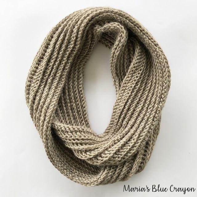 Aspen Infinity Scarf Crochet Pattern | Cowls - Scarves | Pinterest