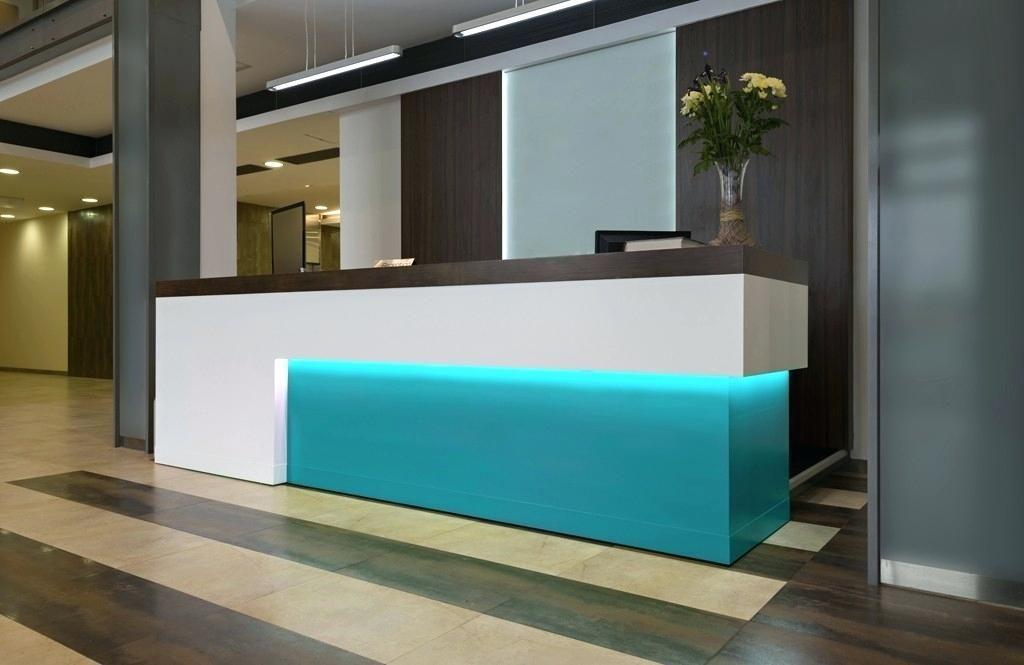Image result for cool office reception desks hotel