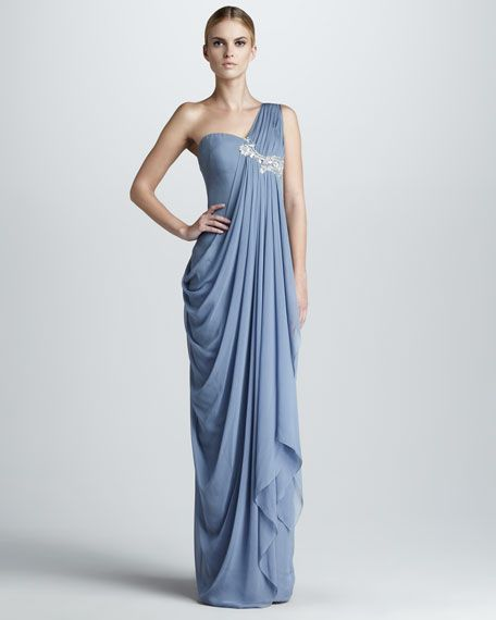 Grecian Gowns Wedding: Grecian Gown Change Lng D Color