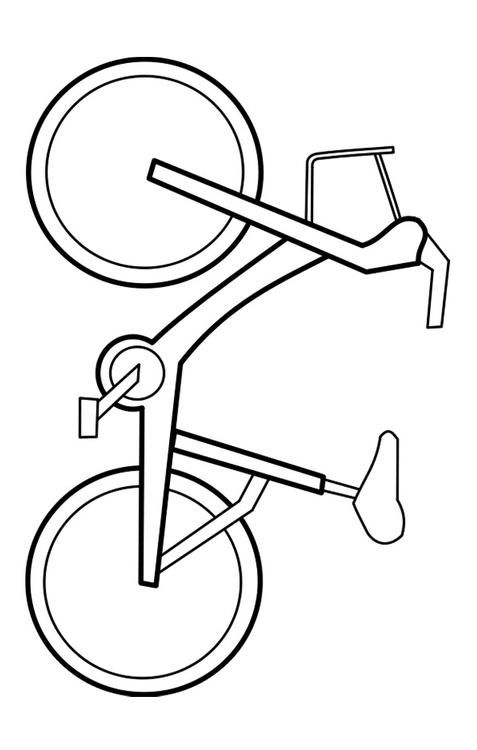 Malvorlage Fahrrad Ausmalbild 22721 Images Fahrrad