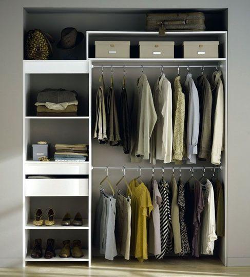 am nager un dressing parfait 9 id es craquantes id e dressing dressing et parfait. Black Bedroom Furniture Sets. Home Design Ideas