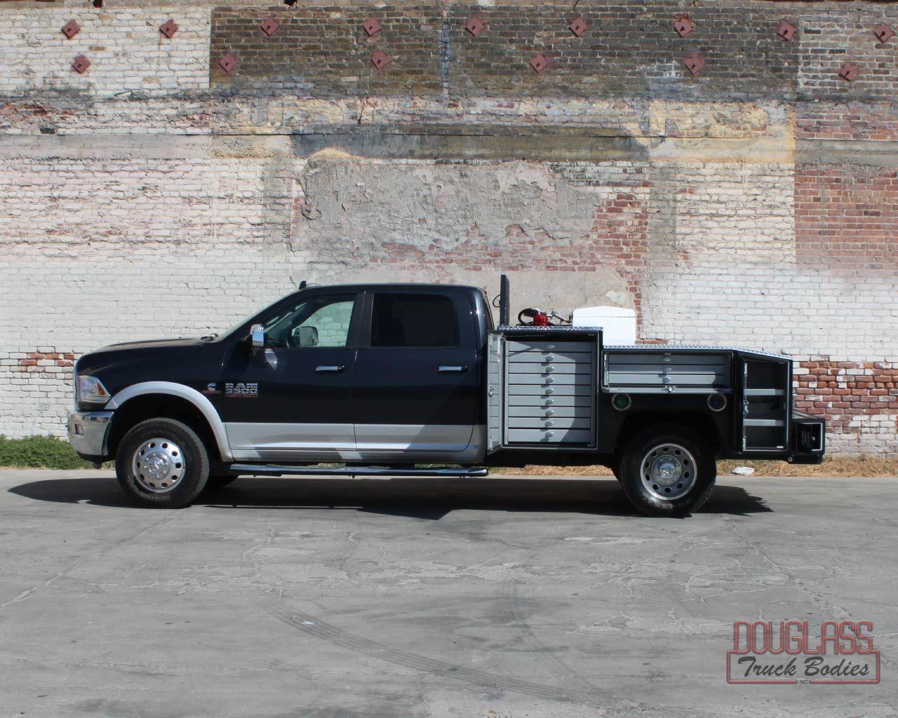 Truck Douglass Truck Bodies Custom truck beds, Work