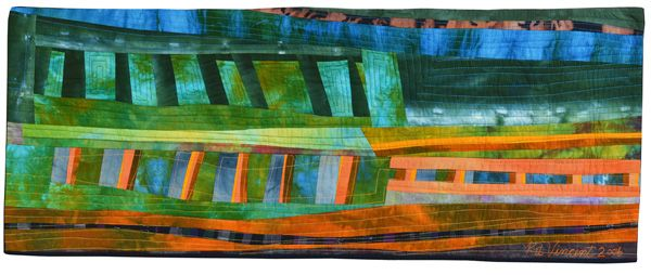 Kit Vincent of Elizabethtown, Ontario, Canada | Weekly Artist Fibre Interviews | Fibre Art | International | Canadian | World of Threads Fes...