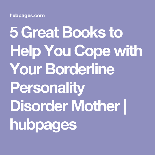 5 Great Books to Help You Cope with Your Borderline Personality