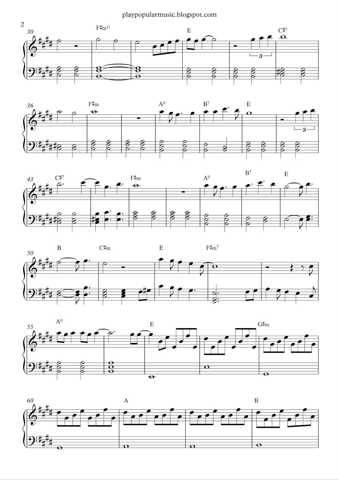 read all about it piano sheet music pdf