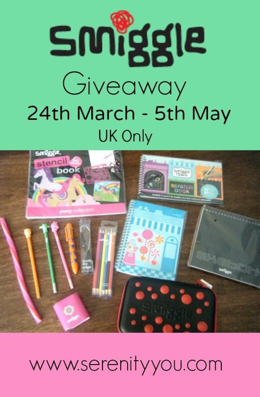 Smiggle Kids Stationary Giveaway (UK only) ends 5th May