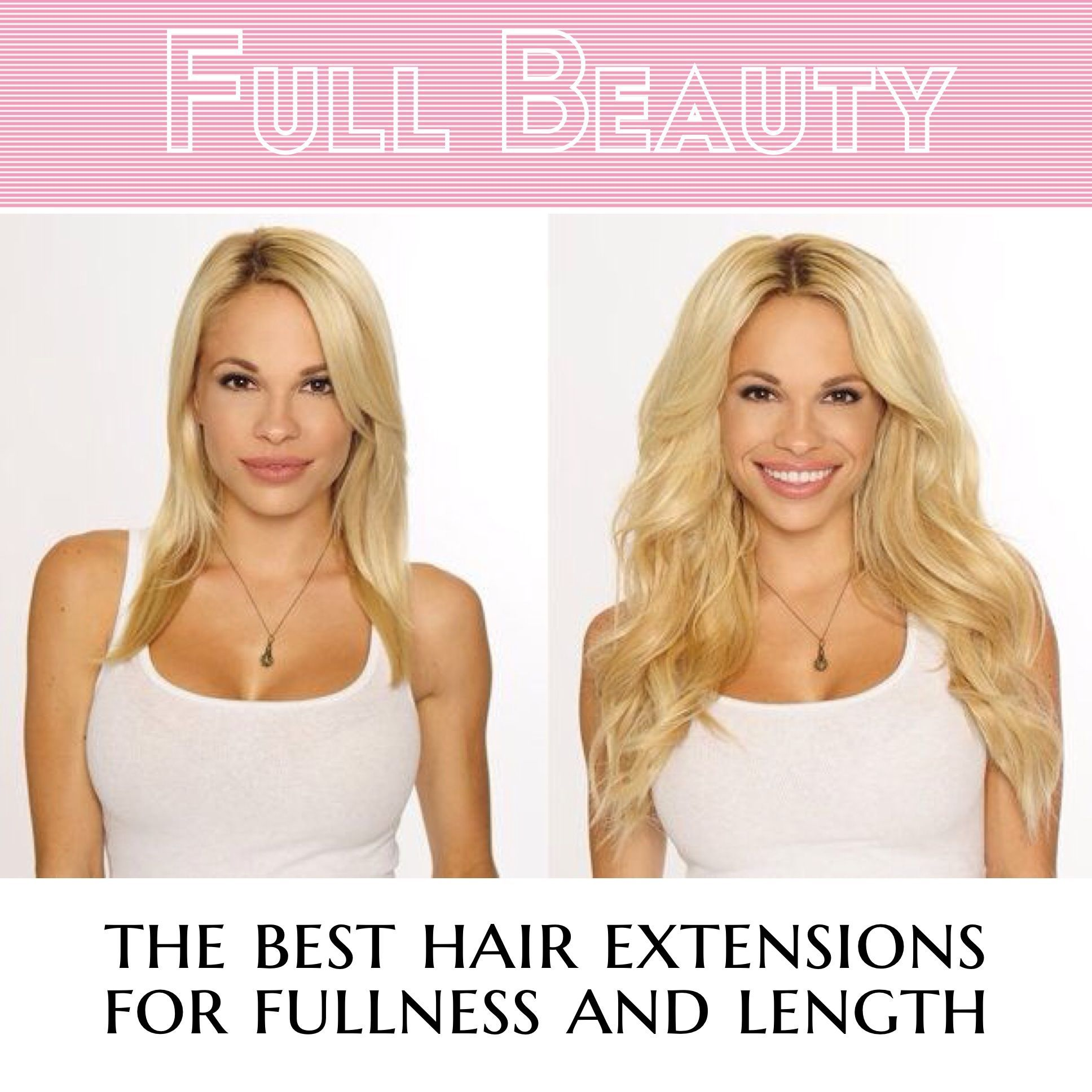 Before After Cashmere Hair Luxury Clip In Hair Extensions Http
