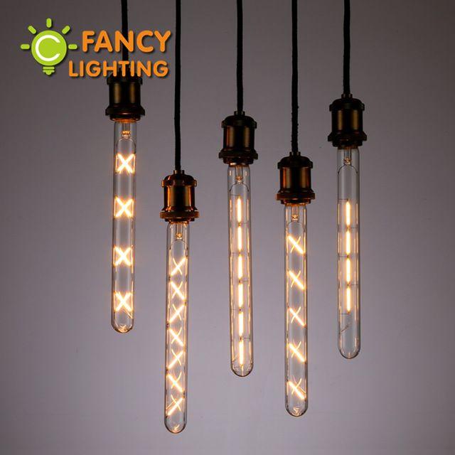 T30-300mm LED Edison Filament Light Bulb 4W 5W 6W 7W 8W