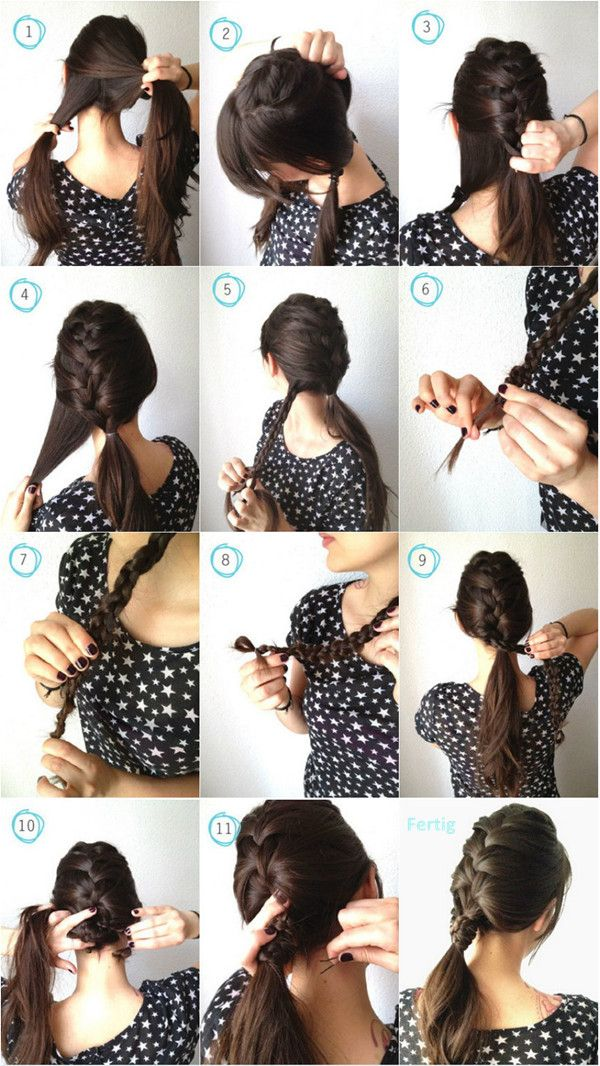 Strange 1000 Images About Hair On Pinterest Diy Hair Diy Fashion And Hairstyle Inspiration Daily Dogsangcom