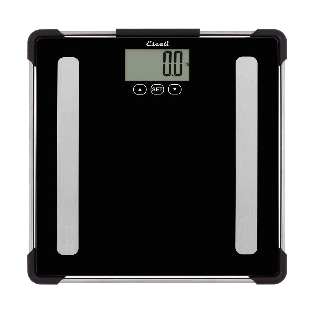 Personal Scale Clear Escali Adult Unisex Body Scale Personal Scale Body Composition