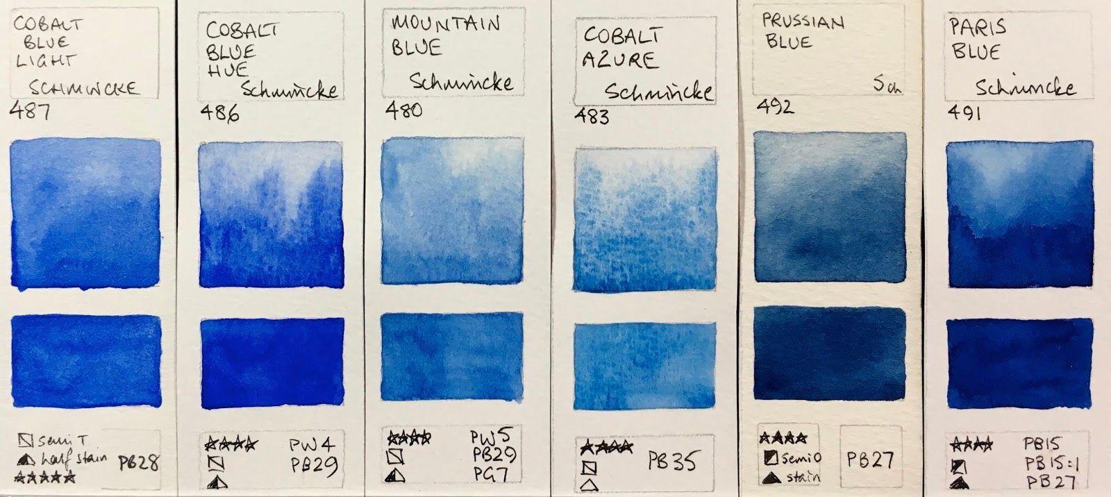 Image Result For Cobalt Ultramarine Prussian Blue