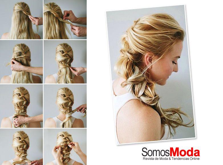 Peinados de moda f ciles de hacer pelo pinterest - Peinados de moda faciles de hacer en casa ...