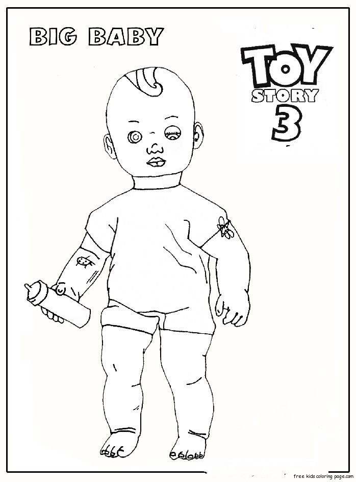 Owl Coloring Pages Free Printables Free Printable Coloring Pages For Kids Free Print Toy Story Coloring Pages Free Kids Coloring Pages How Big Is Baby