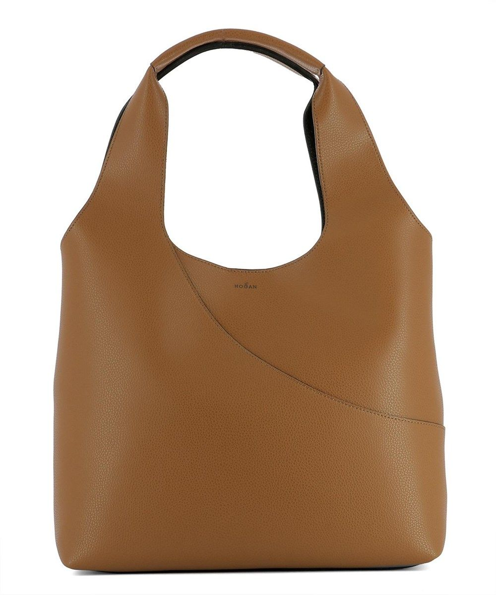 Tote Bag On Sale, navy, Leather, 2017, one size Hogan