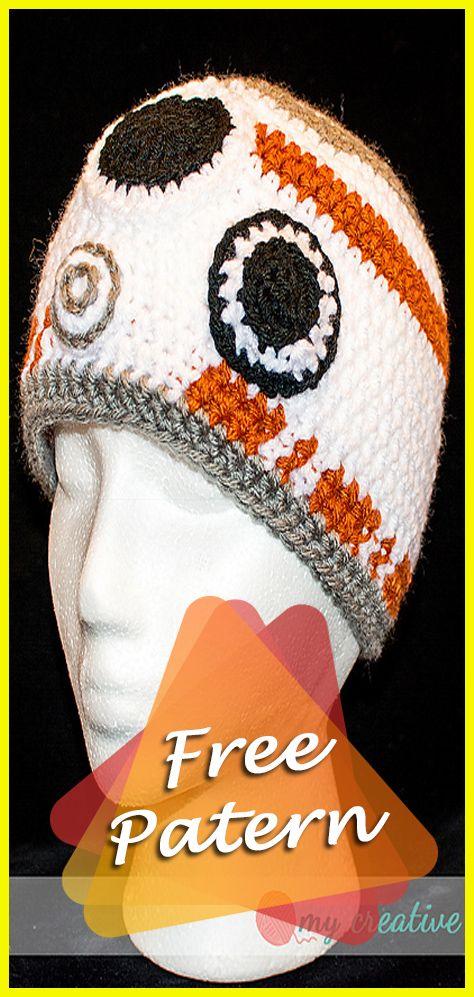 Bb8 Beanie Crochet Star Wars Pattern Free Hat Crochet Free
