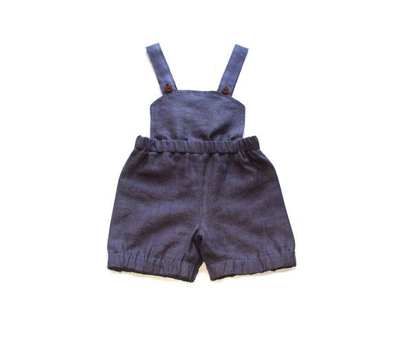 Babies/Children\'s linen romper/shorts/short trousers/pants/diaper ...