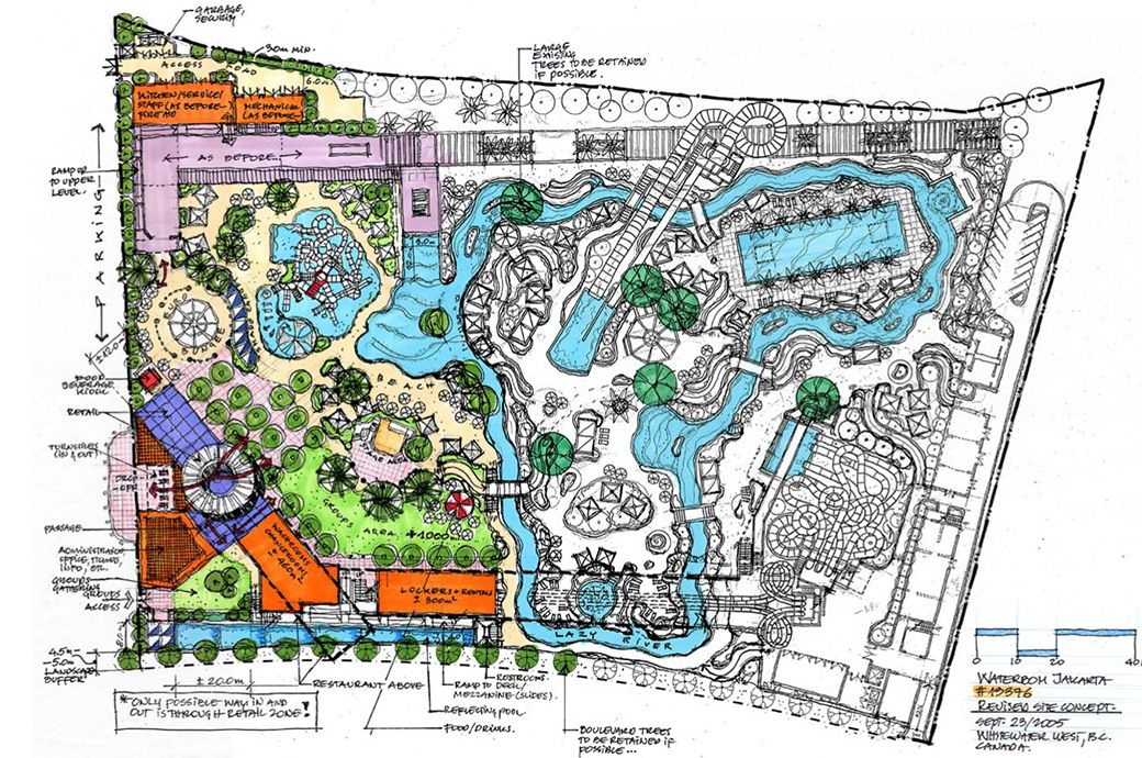 Image Result For Water Park Planning Parking Design Water Theme Park Children Park