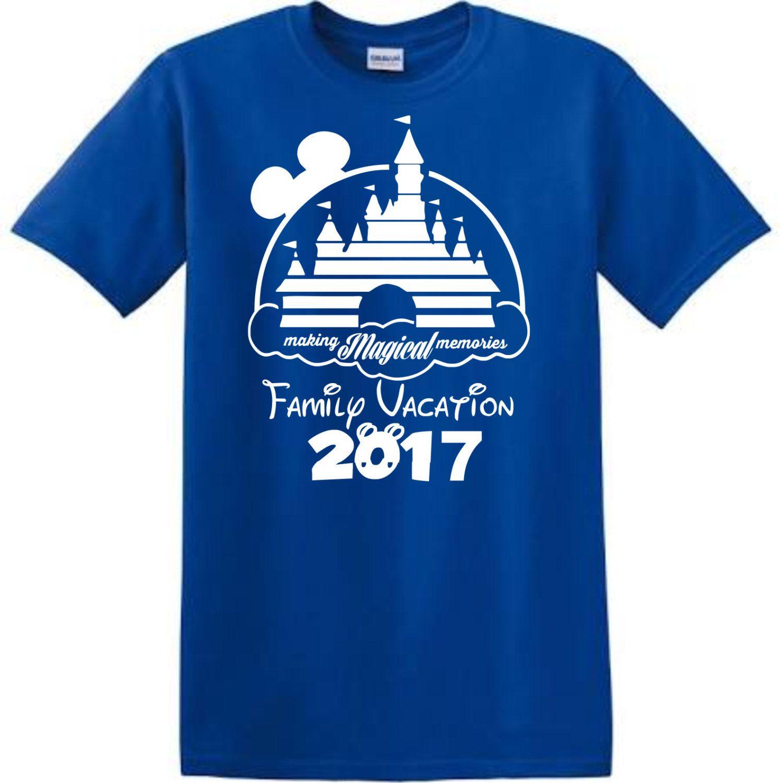 Disney Family Shirts VacationDisney Orlando By Disneymemoriesfl On Etsy