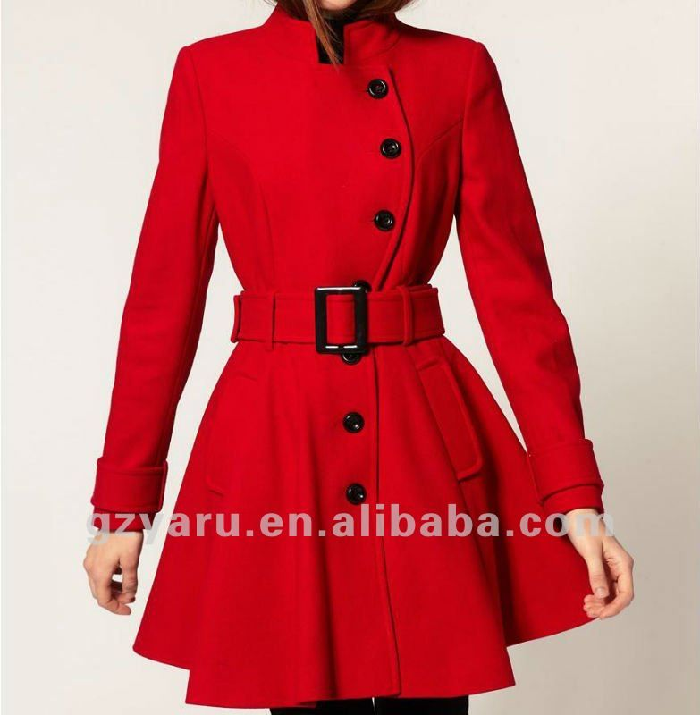 Winter Coats Fashion Ladies Red - Buy Winter Coats Fashion Ladies ...