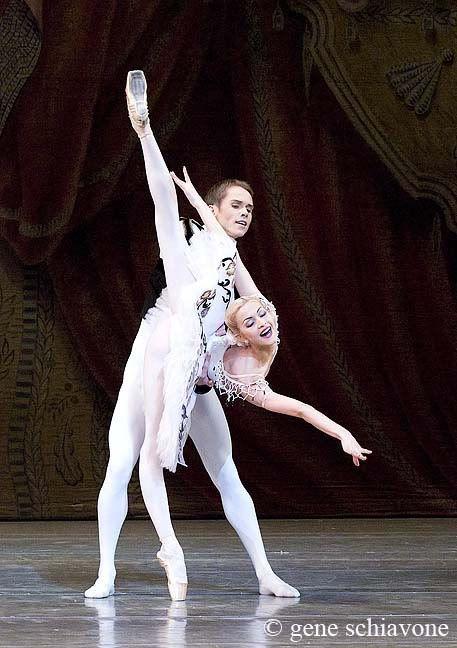 1968 - Russian born ballet dancer Rudolf Nureyev performs