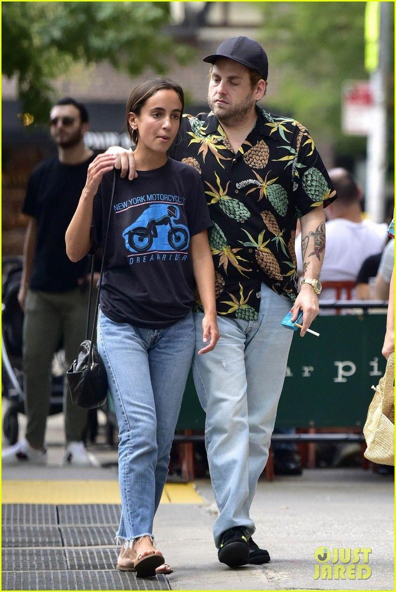 Jonah Hill & Girlfriend Gianna Santos ...