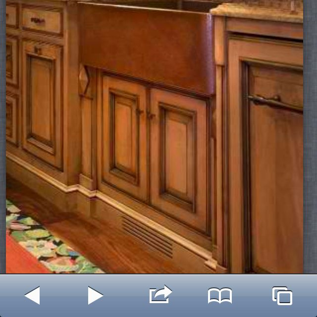 Dark Stained Maple Kitchen Cabinets: Light Maple Cabinets With Darker Stain Accents