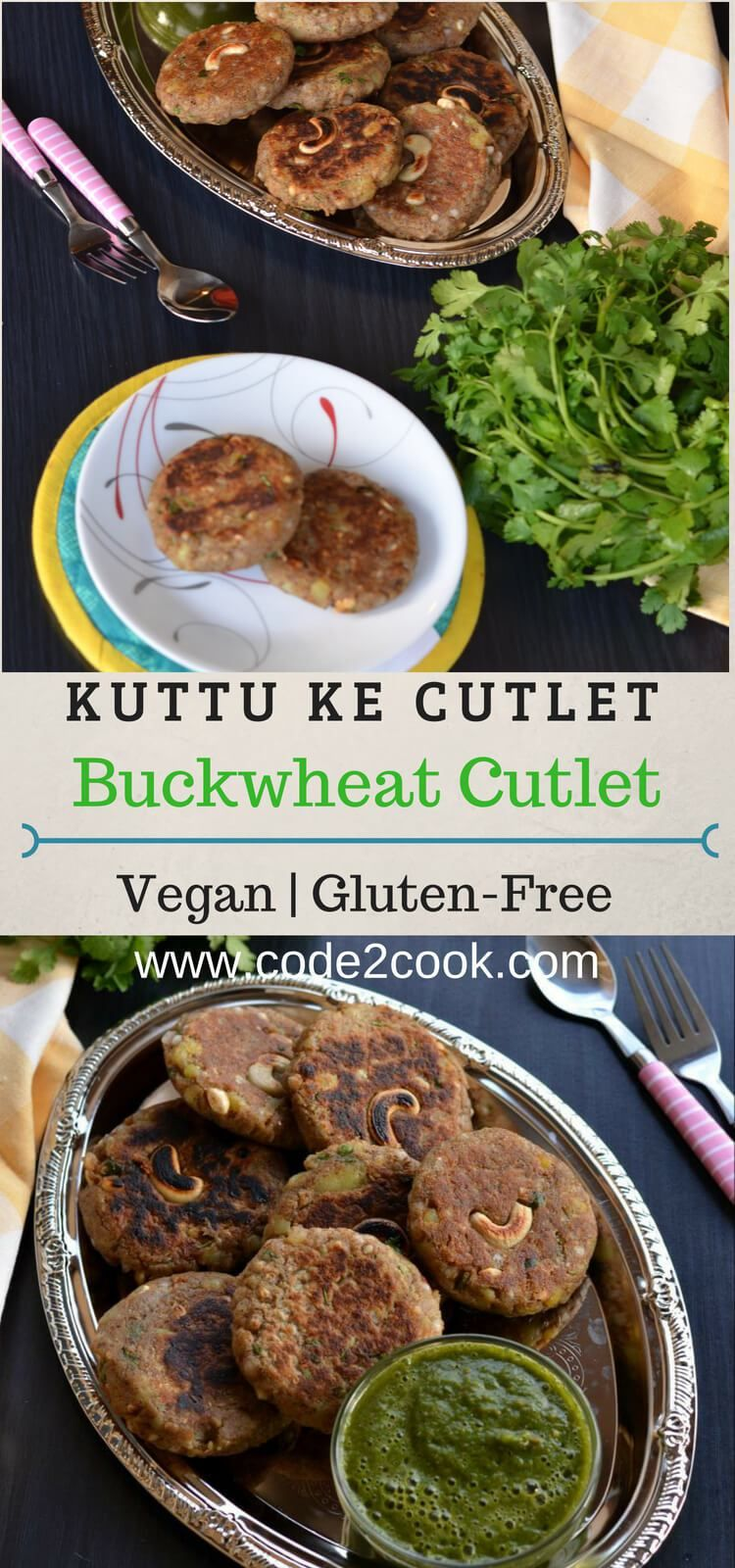 Kuttu Ki Tikki Buckwheat Cutlet Recipe Buckwheat